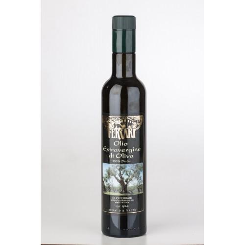 Olio Extravergine di Oliva - Filtrato Antirabbocco - 0.50 lt.