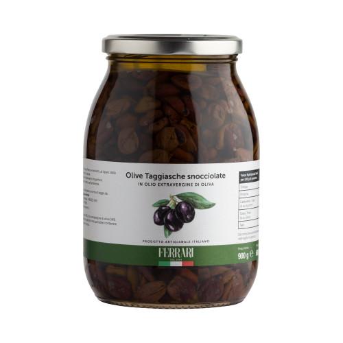 Olives in Extra virgin Olive Oil - gr.900