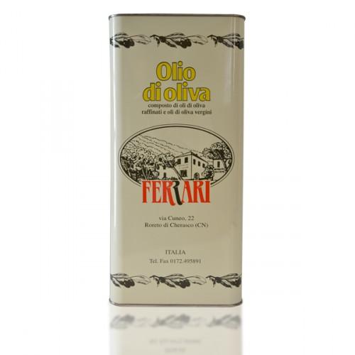 Olio di Oliva Fruttato - 5 lt